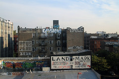 cash4!! (Luna Park) Tags: nyc ny newyork west rooftop brooklyn graffiti revs bikes peak landmark platano roller williamsburg rodeo lunapark copy smells bak rusk zno cash4