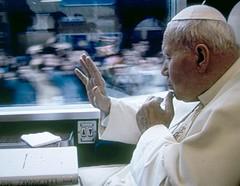 Papa Giovanni Paolo II ad Assisi (Ferrovie dello Stato Italiane) Tags: paolo ad ii papa treno viaggio assisi giovanni