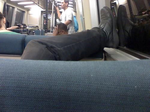 BART Passenger Manners Fail