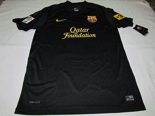 Barcelona fc Jersey 11 12 fc Barcelona 11 12 Away Jersey
