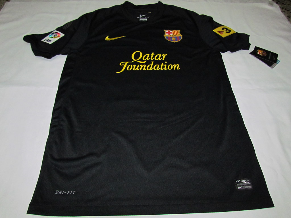 La camisa negra 11/12 del FC Barcelona
