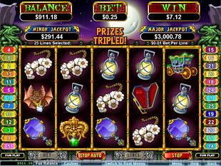 Count Spectacular Slot Free Spins Feature