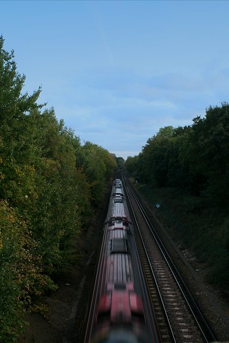 Train From Bridge
