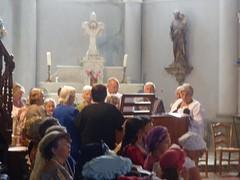 Messe du Dimanche à l'église de Bastelica