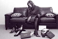 Decisions... (CassieSassyGirl) Tags: shoes stuart heels weitzman