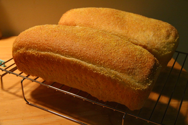 Anadama Bread Loaves