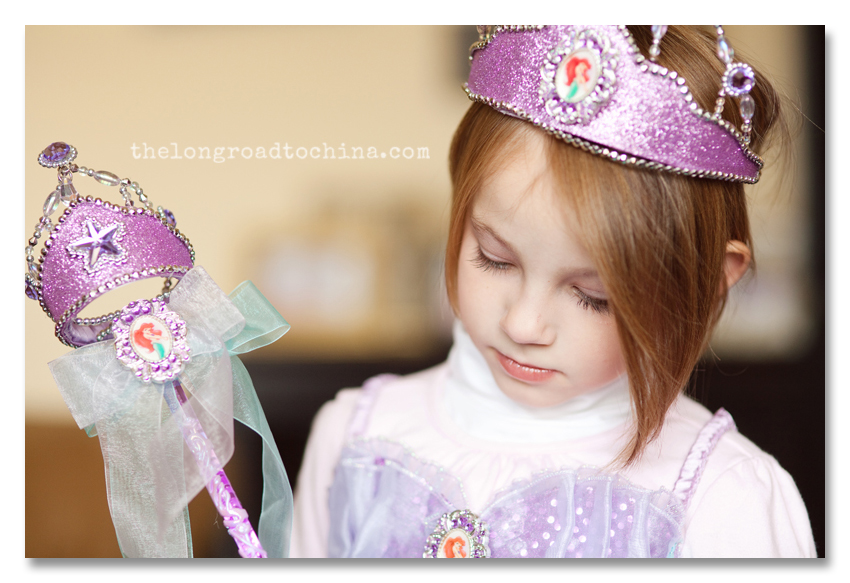 Princess with the Long Eyelashes BLOG