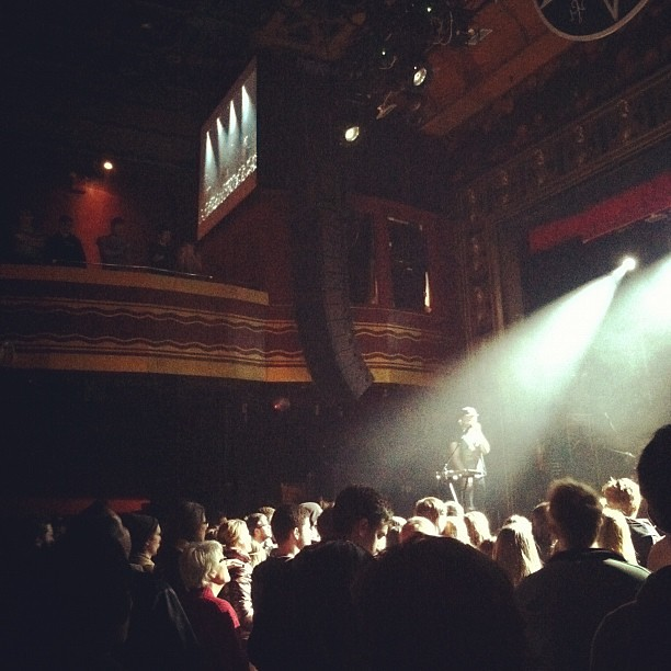 Webster Hall for the @wwpj show