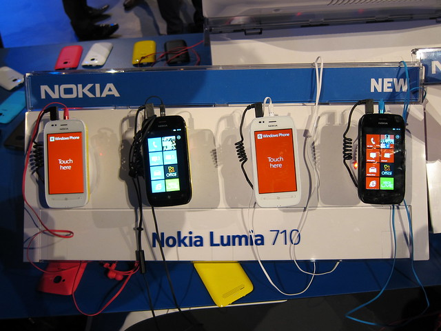 Nokia Lumia 710 Display