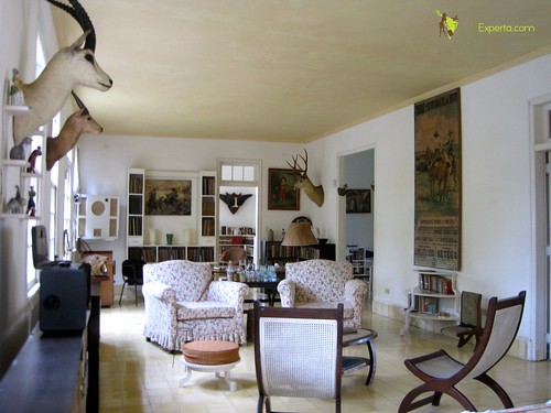 Living Room, Hemingway's Museum, Cuba