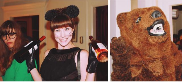 rachel and bear