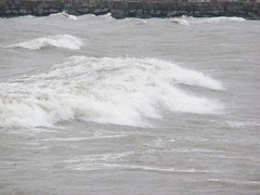 Surfer dude got buried under the wave (k2sleddogs) Tags: lake gale lakemichigan thelake whitingindiana stronggale whihala whihalabeach k2sleddogs
