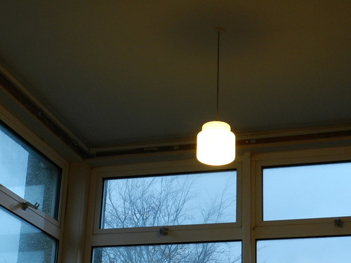 A lamp in Castleknock College (The Savage Eye morning)