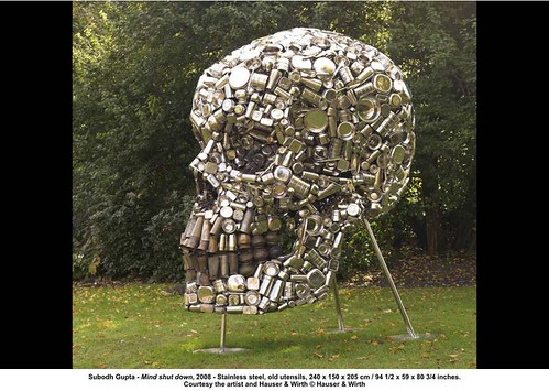 Subodh Gupta - Mind shut down, 2008 by artimageslibrary