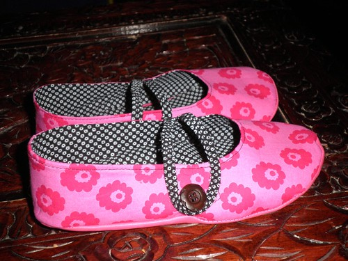 Simplicity 2278 Misses slippers