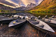 The Boats at Silver Lake (James Neeley) Tags: california sunrise landscape boats silverlake hdr easternsierra 5xp jamesneeley