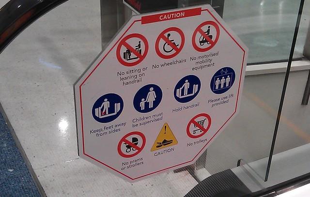 Warning! Crocs!