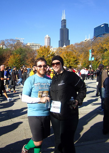 Me and Fella, post-race