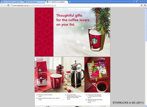 STARBUCKS in Singapore Xmas 2011117044919