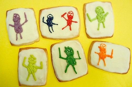 kid art cookies