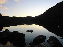 Crafnant Lake Sunset (Alex Staniforth: Wildlife/Nature Photography) Tags: sunset lake alex reflections shadows valley conwy capel staniforth curig crafnant