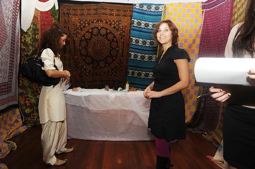Altar and fabrics