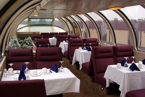 Private rail car, Dome Dining - Friends of the 261 Inc.