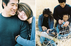 Fang Family - Park City UT - 10-09-2011 (10) (Ryan Johnson Photo) Tags: autumn sun fall mamiya film field analog laughing portraits canon lens fun happy prime utah familyportraits colorful fuji bright kodak sweaters wheat families contax fujifilm parkcity whitebarn climbingtrees canoneos3 bw400cn contax645 colorfilm 2011 instantfilm portra160 fp3000b colornegativefilm utahphotographer mamiyarz67pro mcpolinfarm canon5dmkii utahportraitphotographer