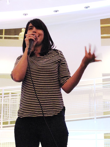 Kathleen Hanna at the High Museum 0215