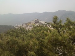 View from the top of Xianglu Feng
