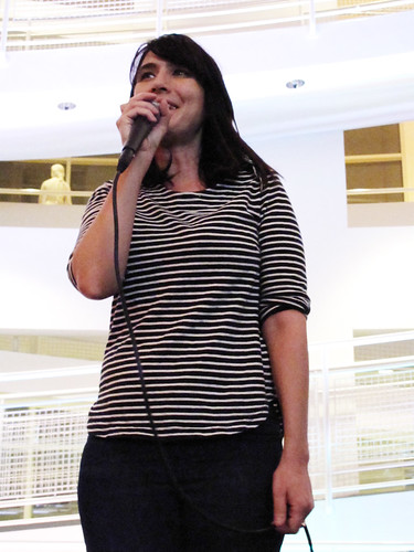 Kathleen Hanna at the High Museum 0213
