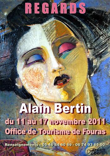 EXPOSITION DE PEINTURE / EXHIBITION by alain bertin