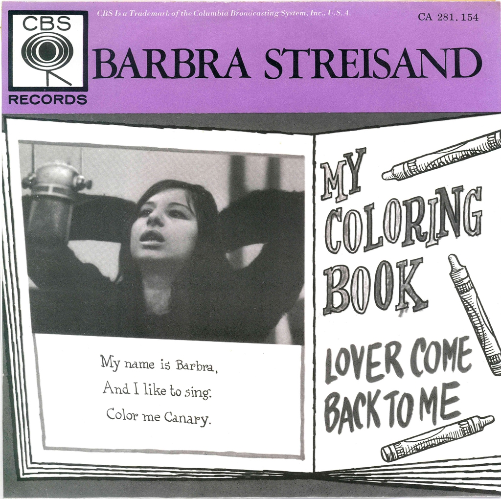 The coloring book barbra streisand - Incl The Stereo Version Of Alternate Single I Am Woman Please See For Further Informations Http Barbra Archives Co Ms People_streisand Html Notice