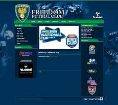 Freedom FC Website