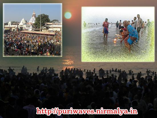 Holy Bath at Mahodadhi – Kartik Purnima – Maha Raas