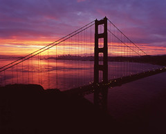 And one more thing... (hanson_s_lee) Tags: mamiya sunrise mediumformat goldengatebridge 6x7 velvia100f filim rb67pros mamiyasekorc50mmf45 ayearoflivingpositively