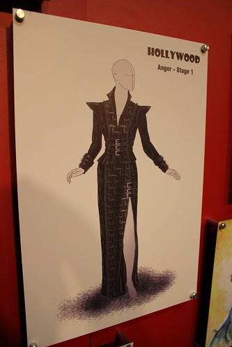Halloween Horror Nights 21 costume artwork