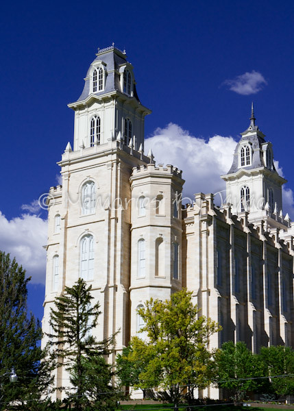 Manti Vintage LDS Temple Prints -4585