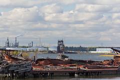 Abandoned Industries (jeffs4653) Tags: usa newyork abandoned graveyard ship unitedstates sunken statenisland rossville arthurkill statenislandboatgraveyard mcmyler