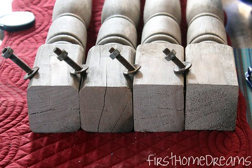 farmhouse table legs