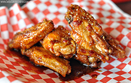 Black Widow Wings at D-Spot ~ Oakdale, MN