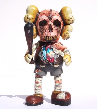 KAWS vs PUSHEAD custom by Brent Nolasco
