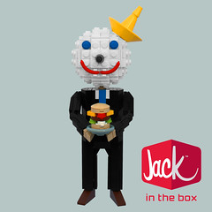 Jack in the Box (bruceywan) Tags: food logo jack lego box fast mascot jackinthebox photostream lowellsphere brucelowellcom lowellspherebl