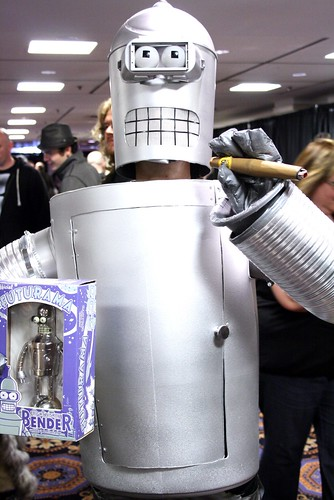 Hal-Con 2011 Costume Highlights: Bender!