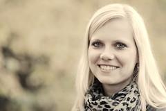 Portrait of Mel (Schwarzwaldfotograf) Tags: light portrait girl face nikon gesicht dof 85mm 14d d700