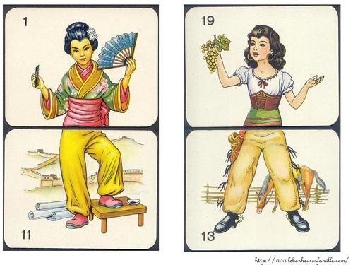 le bonheur en famille jeu carte de coupe11
