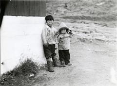 Indigenous children in Ammassalik [Tasiilaq], ...
