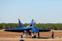 E_MG_7618 (Buffalo Ridge Shutterbug) Tags: sunset flying florida airplanes flight airshow blueangels pensacolabeach 2011