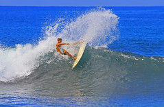 spray (bluewavechris) Tags: ocean slash sea sun sports water fun hawaii surf action surfer board wave maui spray impact surfboard lip swell