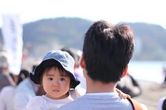 With Daddy (rokclmb) Tags: horse history beach japan canon eos japanese rebel parade bow target samurai arrow archery kanagawa zushi kaigan yabusame eriksen zushibeach t1i canoneosrebelt1i rokclmb zushikaigan jessederiksen ©jessederiksen